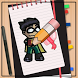 How to Draw Teen Titans Go by How to Drawing Tutorials
