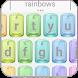 Rainbow LGBT Keyboard Theme by Ace Keyboard Theme