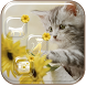 Daisy Kitty Theme Wallpaper by Cool Soloto Themes