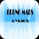Bruno Mars by elfarraso
