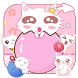 Cute Kitty Pink Theme by Wonderful DIY Studio