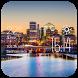Arlington weather widget/clock by Widget Dev Team