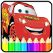 Mcqueen Cars Coloring Book by Toofyy