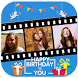 Happy Birthday Movie Maker New by MovieMaker.co