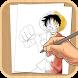 How To Draw One Piece by Gemaxx
