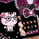 Black Kitty Diamond Leopard Theme by Creative Design Theme
