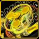 Golden Fidget Spinner Keyboard