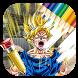 Super Saiyan Coloring Game by FanDev Apps