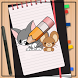 How to Draw Tom and Jerry by How to Drawing Tutorials