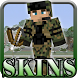 Military Skin for Minecraft by Skins for MCPE Game