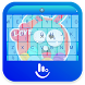 Easter Rabbit Keyboard Theme by Sexy Free Emoji Keyboard Theme