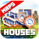 House maps for Minecraft PE by MineMaps