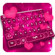 Pink Glitter Keyboard by Keyboard Tema Designer
