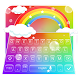 Rainbow Keyboard Theme by cool wallpaper