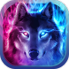 Wicked Wolf Theme: Ice fire wallpaper by Theme King
