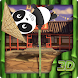 Cute Panda 3D Theme of China by Launcher 3D Pro