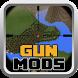 Guns Mods For MCPE by BankMan Studio
