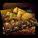 Golden Leopard Keyboard by Keyboard Tema Designer