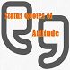 Status Quotes of Attitude by quotes for life from world person
