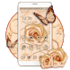 Luxury White Rose Theme by creative 3D Themes