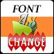 Font Change by E&e Soft