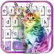 Lovely Caticorn Keyboard Theme by Fashion theme for Android-2018 keyboard