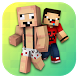 Noob Skins for Minecraft PE by MineMaps