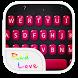 Emoji Keyboard-Red Love by WaterwaveCenter