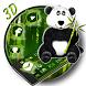 3D Cartoon Panda Lovely Theme by Elegant Theme