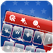 American Flag Keyboard Theme by Cheetah Keyboard Theme