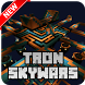 New TRON Skywars Map for Minecraft PE by New Map MCPE