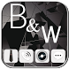 Black White Glass Space Theme by Cool Soloto Themes