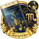 Cryptic Gold Scorpion Theme by stylish android themes