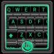 Black Metal Keyboard Theme by Fashion Cute Emoji