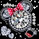 Diamonds Minny Love keyboard by Hello Keyboard Theme