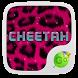 Pink Cheetah GO Keyboard Theme by GOMO Dev Team