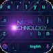 Black Technology Theme by Cheetah Keyboard Theme