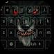 Black Devil Dragon Keyboard by livewallpaperjason