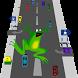 Frog cross the road@free game by leovsstella