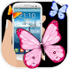 Butterflies Flying On Screen by PIXOPLAY IT SERVICES PRIVATE LIMITED.