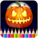 Halloween-Adult Coloring Book by Coloring Fun Games For Adults and Kids