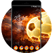 Cool Flame Ball Theme: Fire Wallpaper icons by Best theme store