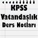 KPSS Vatandaşlık Ders Notları by Apps4Learn