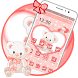 Pink Teddy Bear Love Theme by Launcher Fantasy