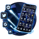 Neon Black Technology launcher theme by Hello Keyboard Theme