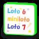 ロト6・ミニロト・ロト7・ビンゴ5、よく出た数字と組み合わせ by lotorich