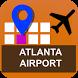 Atlanta Airport Map - ATL by Quotes
