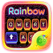 Rainbow GO Keyboard Theme by Keyboard Fashion New