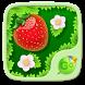 Strawberry GO Keyboard Theme by Keyboard Fashion New