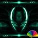 Alien Emerald Xperien Theme by Arjun Arora
